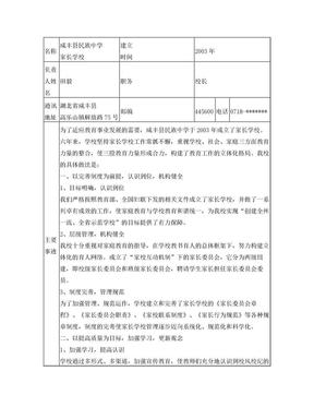 示范家长学校申报材料.doc