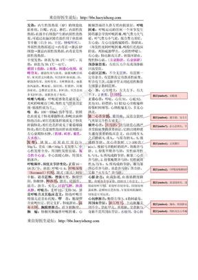 内科学笔记总结.doc