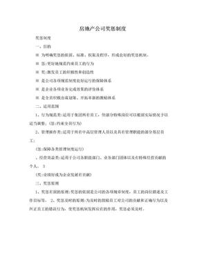 房地产公司奖惩制度.doc