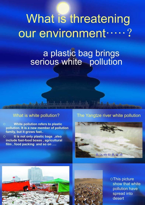 英语课标之白色污染.ppt