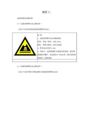 危险废物标识牌式样.doc