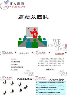 高绩效团队(青鸟).ppt