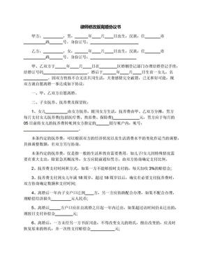 律师修改版离婚协议书.docx