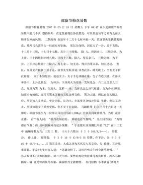 邵康节梅花易数.doc
