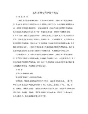 实用新型专利申请书范文.doc