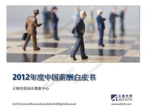2012年度中国薪酬白皮书.doc