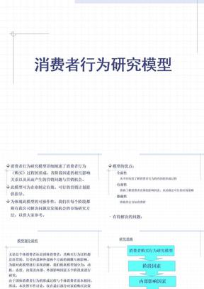 消费者行为研究模型(1).ppt