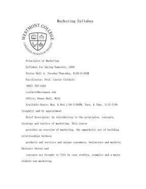 Marketing Syllabus.doc