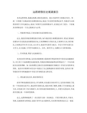历史观课报告.doc