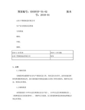 锅炉专项应急预案.doc