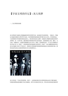 【宇宙文明的印记】灰人残梦.pdf