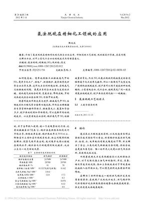 氨法脱硫在精细化工领域的应用.pdf