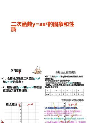 二次函数y=ax2图像和性质.ppt