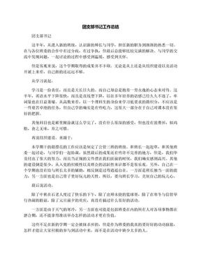 团支部书记工作总结.docx