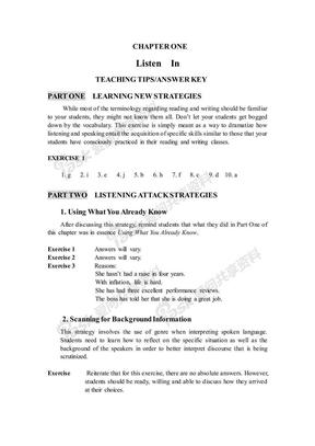 研究生英语听说教程引进版第二册答案.pdf