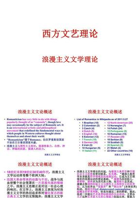 西方文艺理论课件05A.ppt