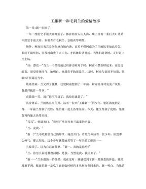 工藤新一和毛利兰的爱情故事.doc