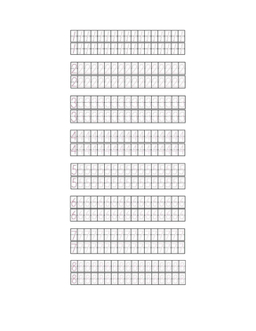 幼儿、学前数学阿拉伯数字1-10描红A4打印版.doc