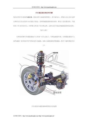 汽车减震器结构原理详解2.doc