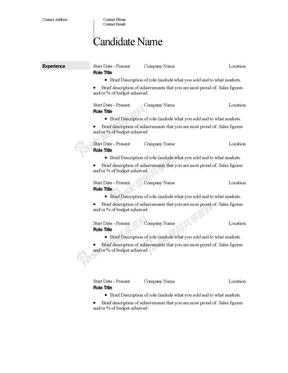 英文简历模板CV-Template.doc