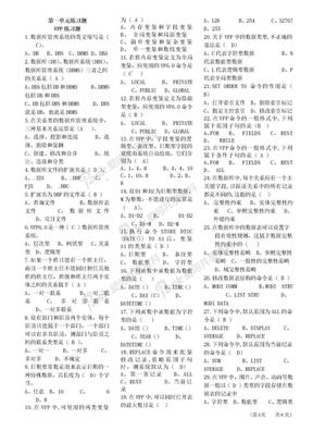 VFP练习题.doc