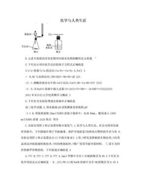 化学与人类生活.doc