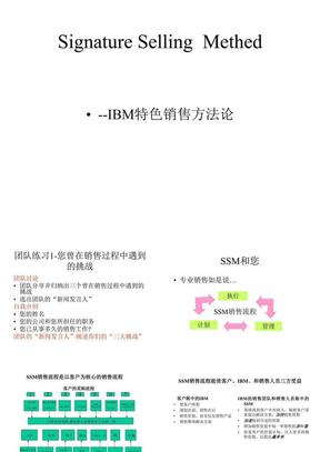 IBMSSM特色销售方法论.ppt