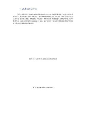 塑料阻燃性能测试方法总汇.doc