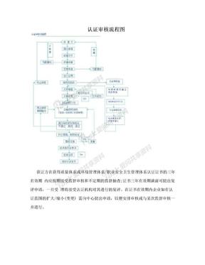 认证审核流程图.doc