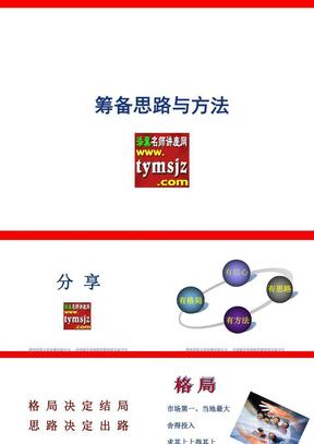 保险公司筹备思路与方法33页(PPT模板).ppt