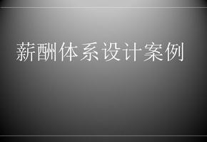 名企薪酬体系设计经典案例(可做薪酬体系范本).ppt