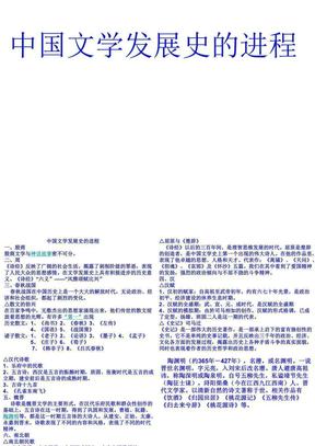 中国文学史发展进程1.ppt