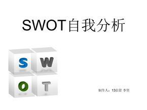 大学生SWOT自我分析.ppt