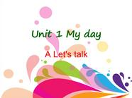 【新人教版小学英语五年级下册ppt课件】A Let's talk 1.ppt