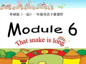 外研版(一起)一年级英语下册课件-Module-6-Unit-1(1).ppt