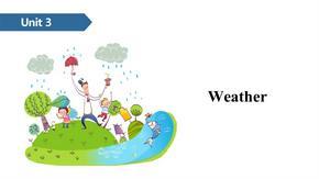 四年级下册英语课件-Unit 3 Weather A∣人教(PEP)(2014秋) (共16张PPT).ppt