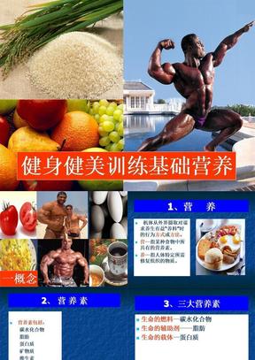 健身健美锻炼基础营养学知识简介.ppt