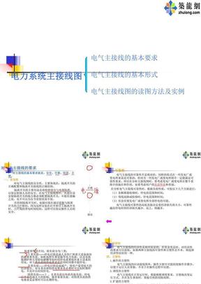 电力系统主接线图讲解.ppt
