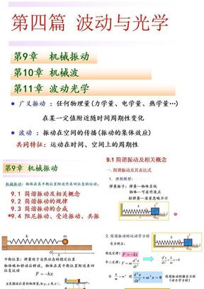 简谐振动20110509.ppt