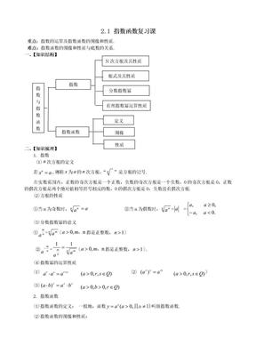 指数函数复习课.doc