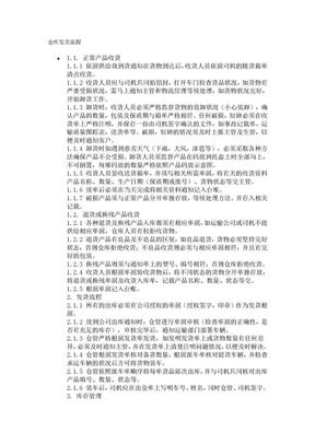 仓库发货流程.doc