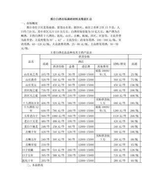 邢台白酒市场调研.doc