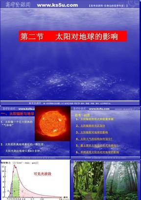 1.2太阳对地球的影响.ppt