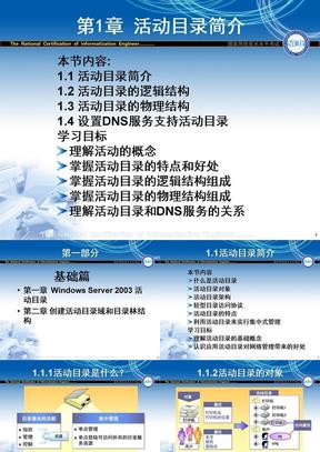 Windows2003活动目录详解.ppt