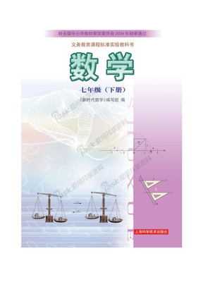 沪科版七年级数学电子书(下).doc