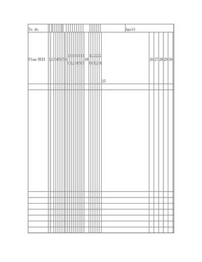 手账 月清单 打印版.doc