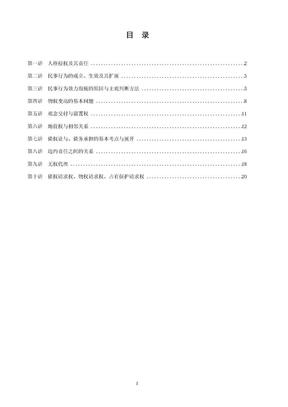 讲义——民法(张翔).doc