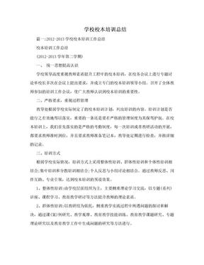 学校校本培训总结.doc