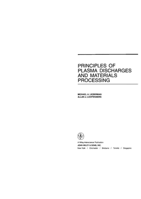 Principles of Plasma Discharges and Materials Processing 全本.pdf