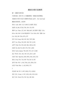 越南行政区划地图.doc